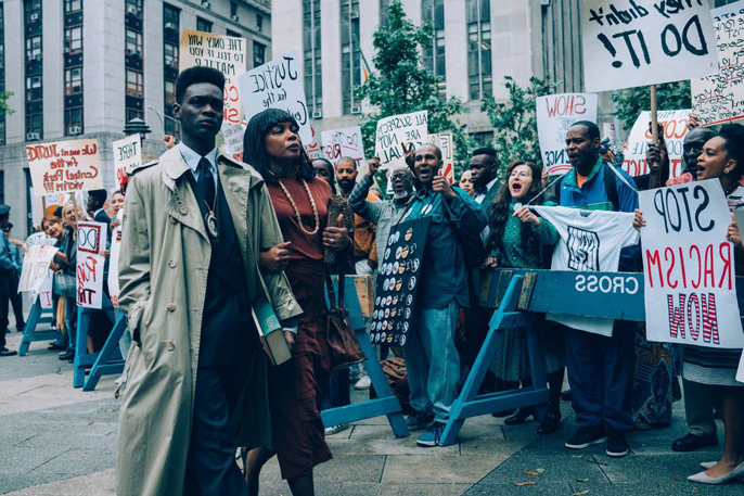 A scene from the TV series 'When They See Us'